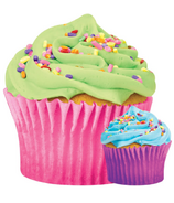 Iscream Celebration Cupcake Microbead Pillow