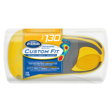 Dr. Scholl\'s Custom Fit Orthotic Inserts CF 130