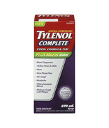 Tylenol Complete Cold, Cough & Flu Extra Strength Day Syrup