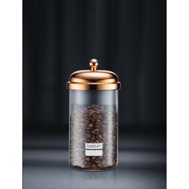 Bodum Chambord Storage Jar Copper