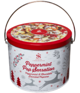 Saxon Chocolates Peppermint Pop Sensation Pail