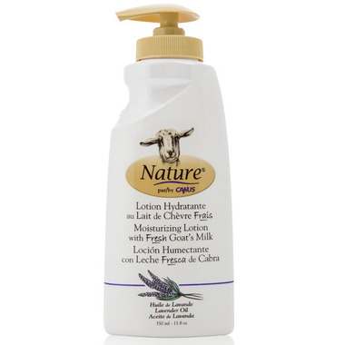 Nature by Canus Moisturizing Lotion with Fresh Goat\'s Milk Lavender Oil
