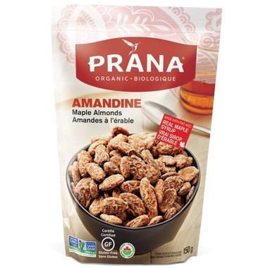 PRANA Amandine Organic Maple Almonds