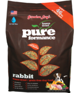 Grandma Lucy's Pureformance Rabbit Freeze-Dried Grain-Free Dog Food