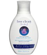 Live Clean Baby Calming Bedtime Bubble Bath & Wash