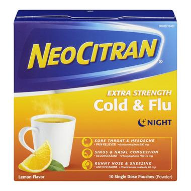 NeoCitran Extra Strength Cold & Flu Night