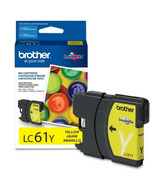 Brother LC61YS Yellow Ink Cartridge