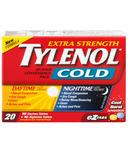 Tylenol Cold Extra Strength Day + Night eZ Tabs