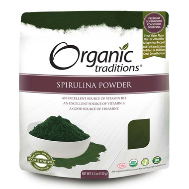 Organic Traditions Spirulina Powder