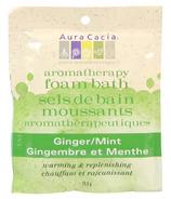 Aura Cacia Aromatherapy Ginger Mint Foam Bath
