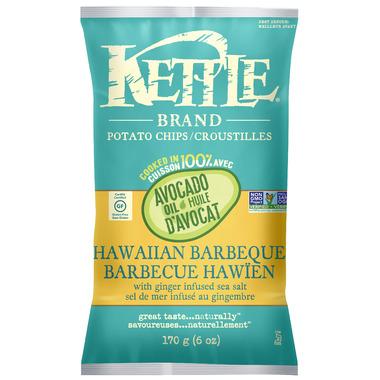 Kettle Avocado Oil Hawaiian Barbeque Potato Chips