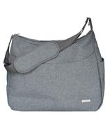 JJ Cole Linden Diaper Bag Heather Grey
