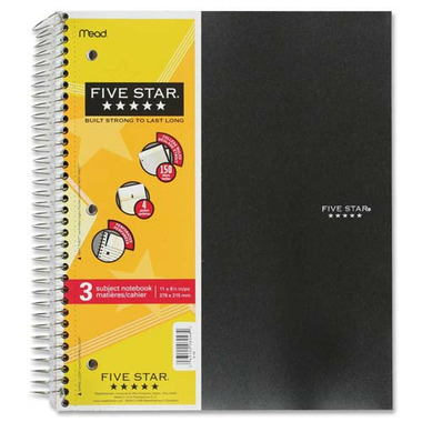 Hilroy Five Star One Subject Notebook