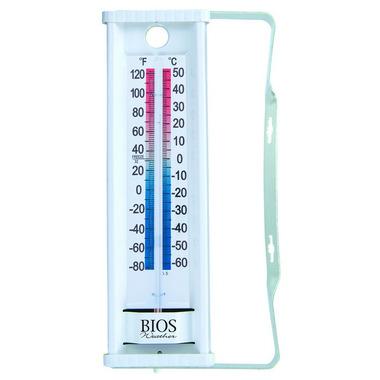 Bios Indoor/Outdoor Window Thermometer