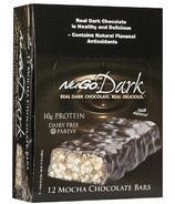 NuGo Dark Mocha Chocolate Bars