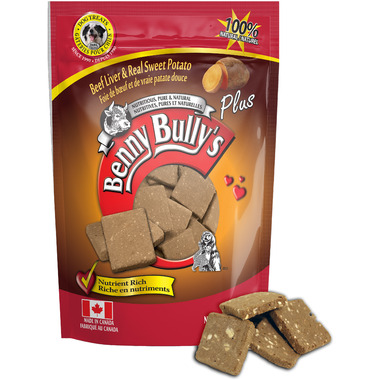 Benny Bully\'s Beef Liver Plus Sweet Potato Dog Treats