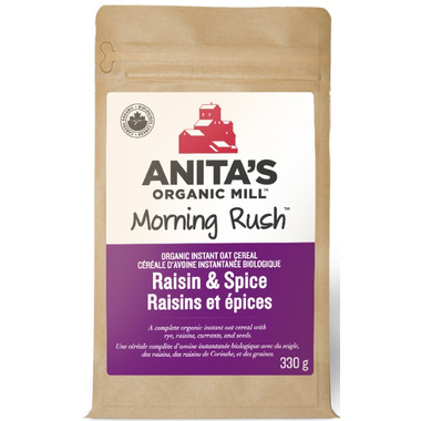 Anita\'s Organic Mill Morning Rush Raisin & Spice Oatmeal