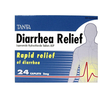 Tanta Diarrhea Relief Caplets