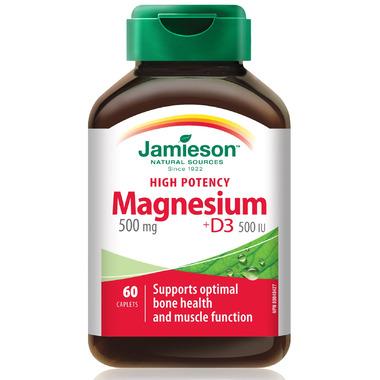 Jamieson High Potency Magnesium + D3