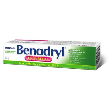 Benadryl Itch Relief Cream
