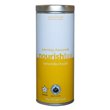 Nourishtea Warming Chamomile Loose Leaf Tea
