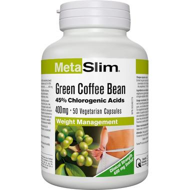 Webber Naturals Green Coffee Bean Capsules