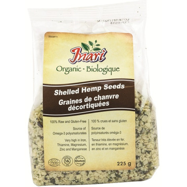 Inari Organic Shelled Hemp Seeds