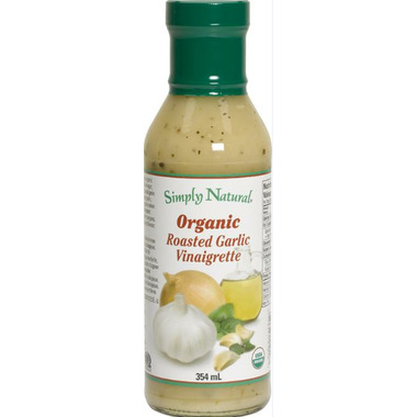 Simply Natural Organic Roasted Garlic Vinaigrette