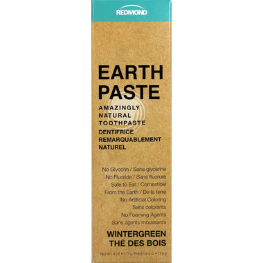 Redmond Earthpaste Amazingly Natural Toothpaste