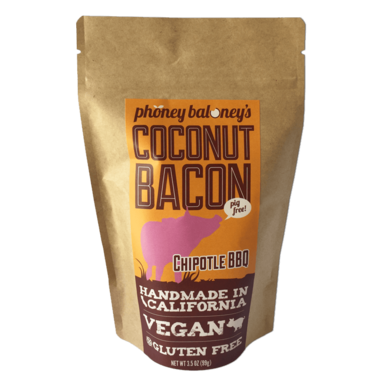 Phoney Baloney\'s Chipotle BBQ Coconut Bacon