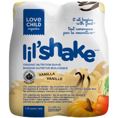 Love Child Organics Vanilla Lil\'Shake