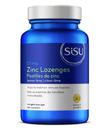 SISU Zinc Lozenges Lemon Lime