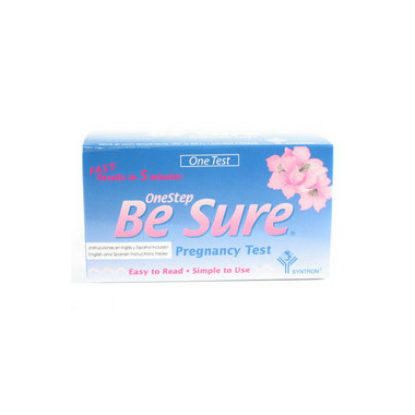 Be Sure One Step Pregnancy Test