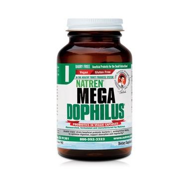 Natren Megadophilus Dairy Free Probiotic Capsules