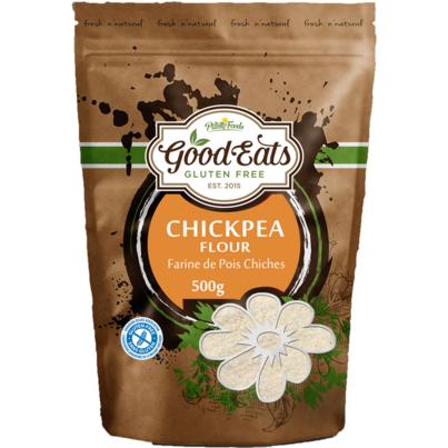 Pilling Foods Good Eats Gluten Free Chickpea Flour