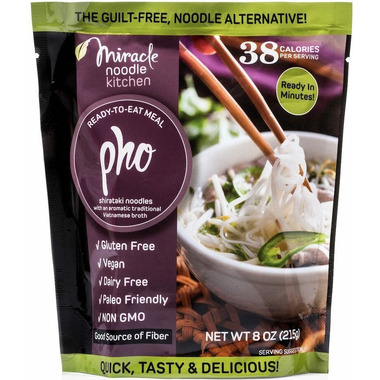 Miracle Noodle Vegan Pho Ready to Eat Meal