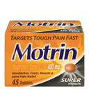 Motrin Tablets Super Strength