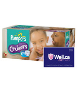 Pampers Cruisers - Largest Box + Well.ca $10 Gift Card