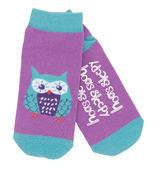 Little Blue House Women's Ankle Socks Hoo's Sleepy