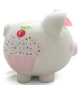 Child to Cherish Sprinkle Cupcake Piggy Bank