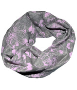L&P Apparel Infinity Scarf Flower Love