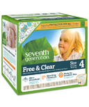 Seventh Generation Baby Free & Clear Diaper Super Jumbo