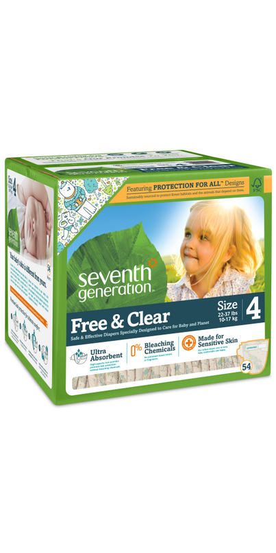 Buy Seventh Generation Baby Free & Clear Diaper Super ...