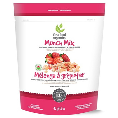 First Food Organics Strawberry Munch Mix