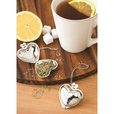 Fox Run Heart Shaped Tea Infuser Set of 2