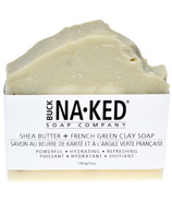 Buck Naked Soap Company Shea Butter & French Green Clay Soap