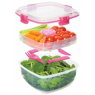 Sistema Salad To Go Pink