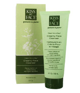 Kiss My Face Potent & Pure Clean For A Day Creamy Face Cleanser