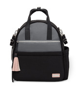 Skip Hop Nolita Neoprene Diaper Backpack Black/ Grey