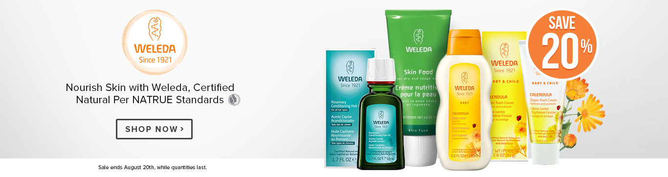 Save on Weleda